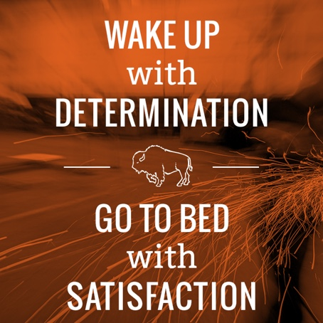 Buffalo Construction | Wake Up With Determination - Go to Bed With Satisfaction