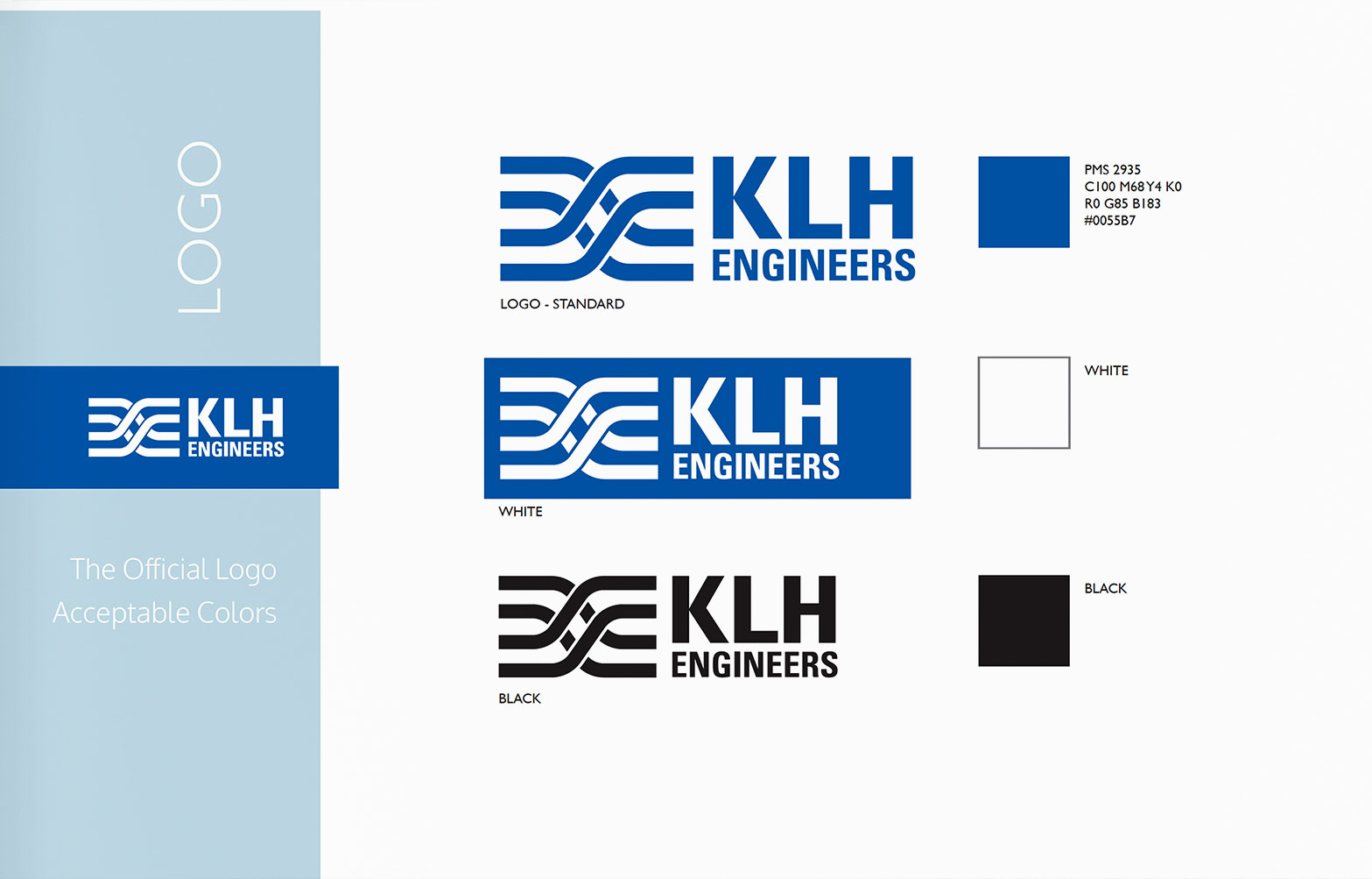 Logo - KLH Engineers Brand Guidelines
