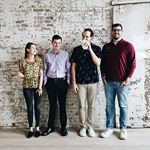 A police lineup? Nope, just these unusual suspects. Say hello to nOOHligans Kaitlyn, Ryan, Mitchell and Trent. Sorry to interrupt your lunch, Mitch. •